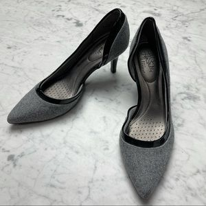 Life Stride Soft System D'Orsay Wool Patent Pumps